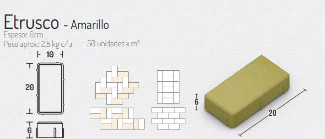 Etrusco Amarillo – Pavimentos