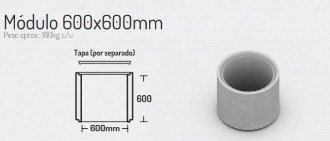 Modulo 600x600mm