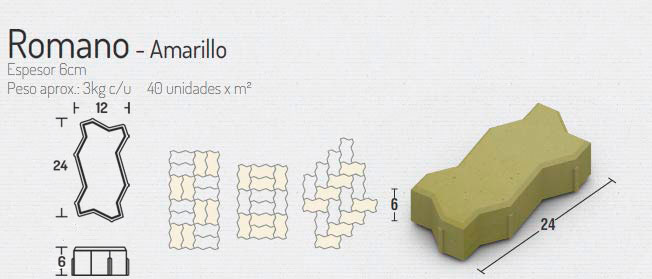 Romano Amarillo – Pavimentos