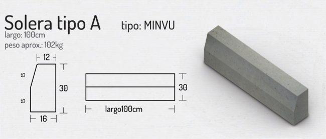 Solera Tipo A (MINVU)