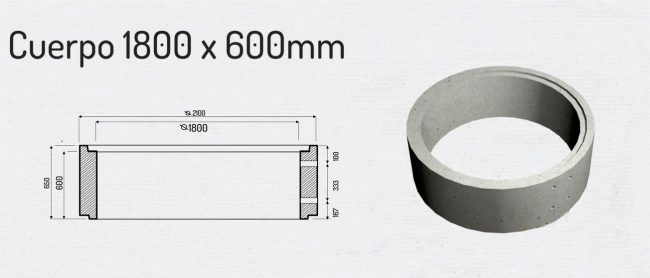Cuerpo 1800x600mm