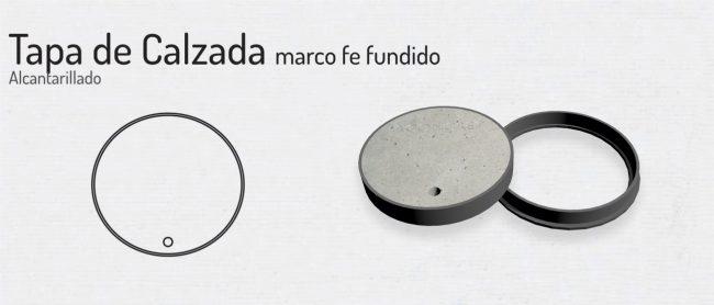 Tapa de Calzada sin logo