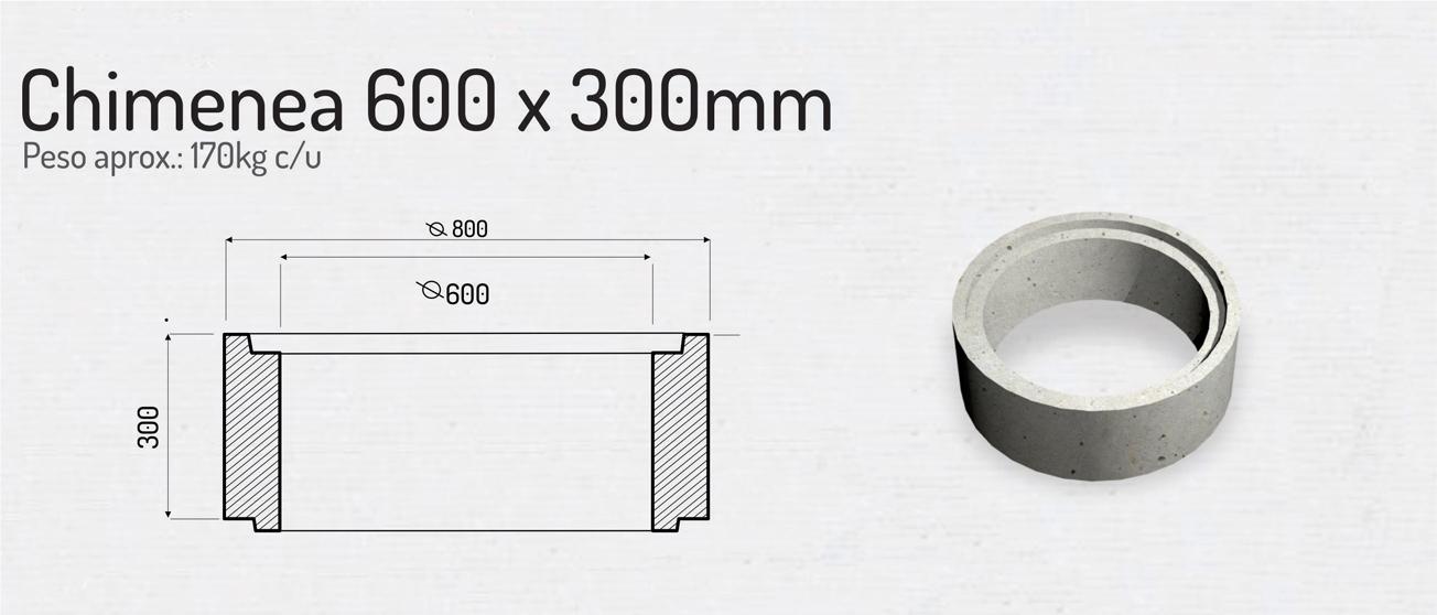 Chimenea 600×300 – Cámaras para Colectores
